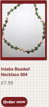 Order now £7.50 Intaba Beaded Necklace 004
